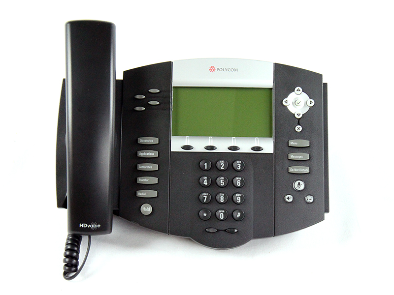 Click for large view of the SoundPoint IP 550 VoIP Telephone.