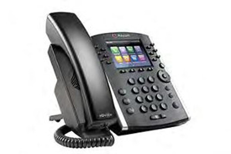 Click for large view of the VVX 400 Business Media Phone.