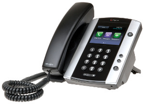 VVX 500  12-Line Business Media Phone.