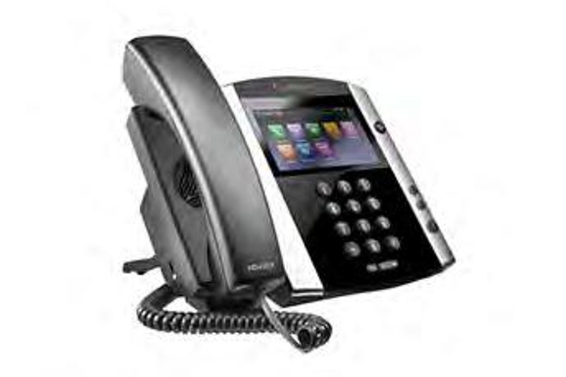 Click for large view of the VVX 600 Business Media Phone.